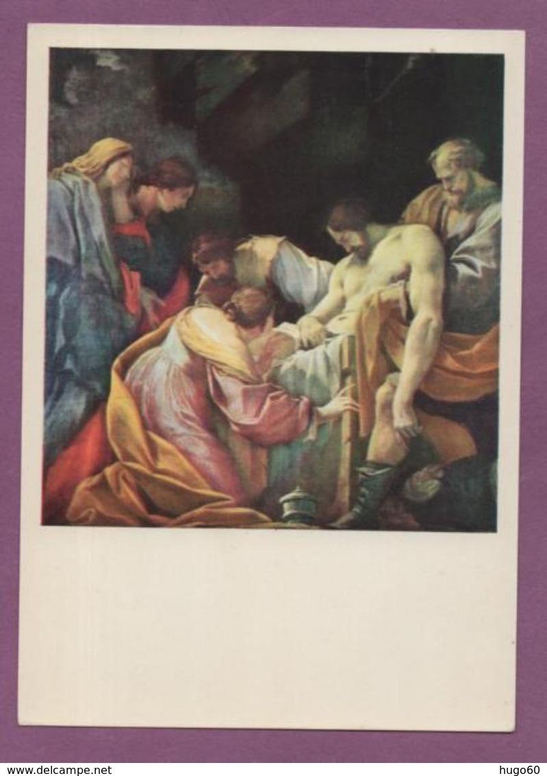 Simon Vouet - Mise Au Tombeau - Peintures & Tableaux