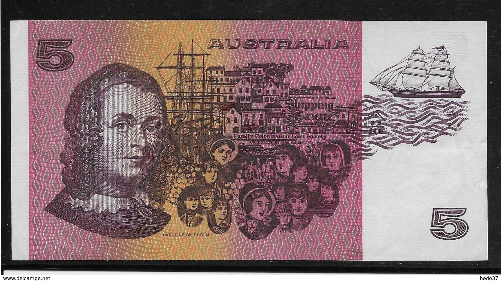 Australie -  5 Dollars - Pick N° 44e - SPL - Australia