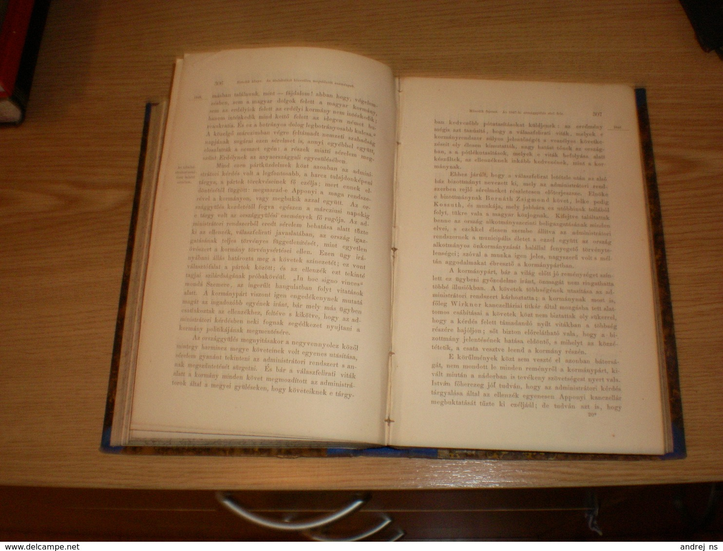 Hungary Huszonot Ev Magyarorszag Tortenelmebol I II III Horvath Mihaly Pest 1868 Rath Mor - Livres, BD, Revues