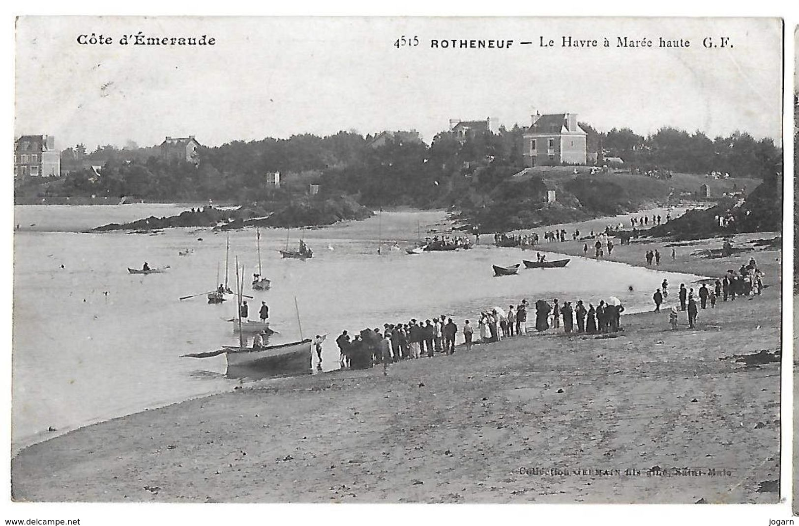 35 - ROTHÉNEUF  (ST MALO)  - Le Hâvre à Marée Haute         N - Rotheneuf