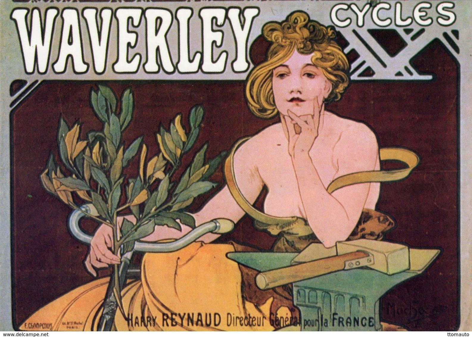 Waverley Cycles   -  Publicité Vélos   -  CPM - Ciclismo