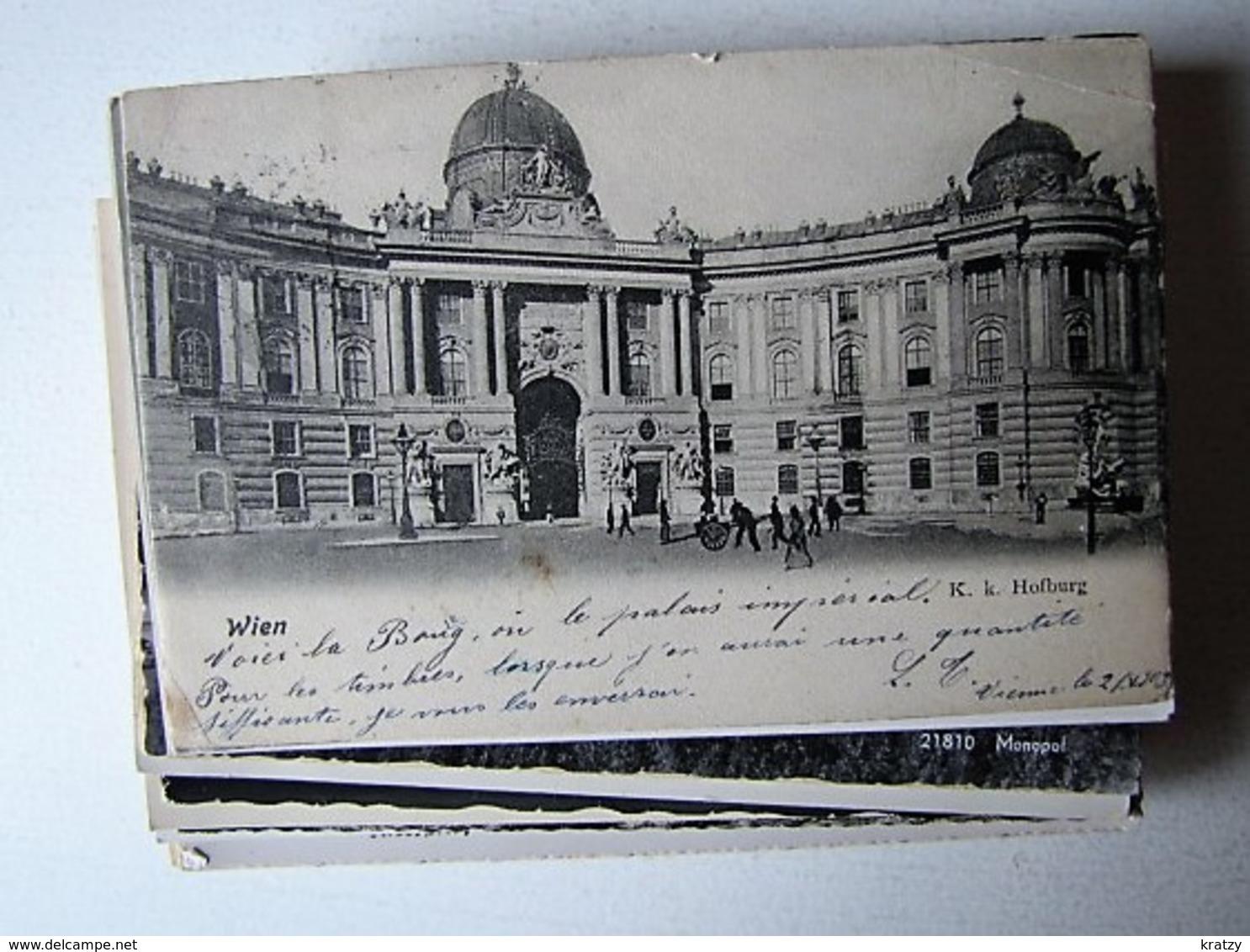 ALLEMAGNE ET AUTRICHE - LOT DE 50 Anciennes Cartes Postales - Postcards