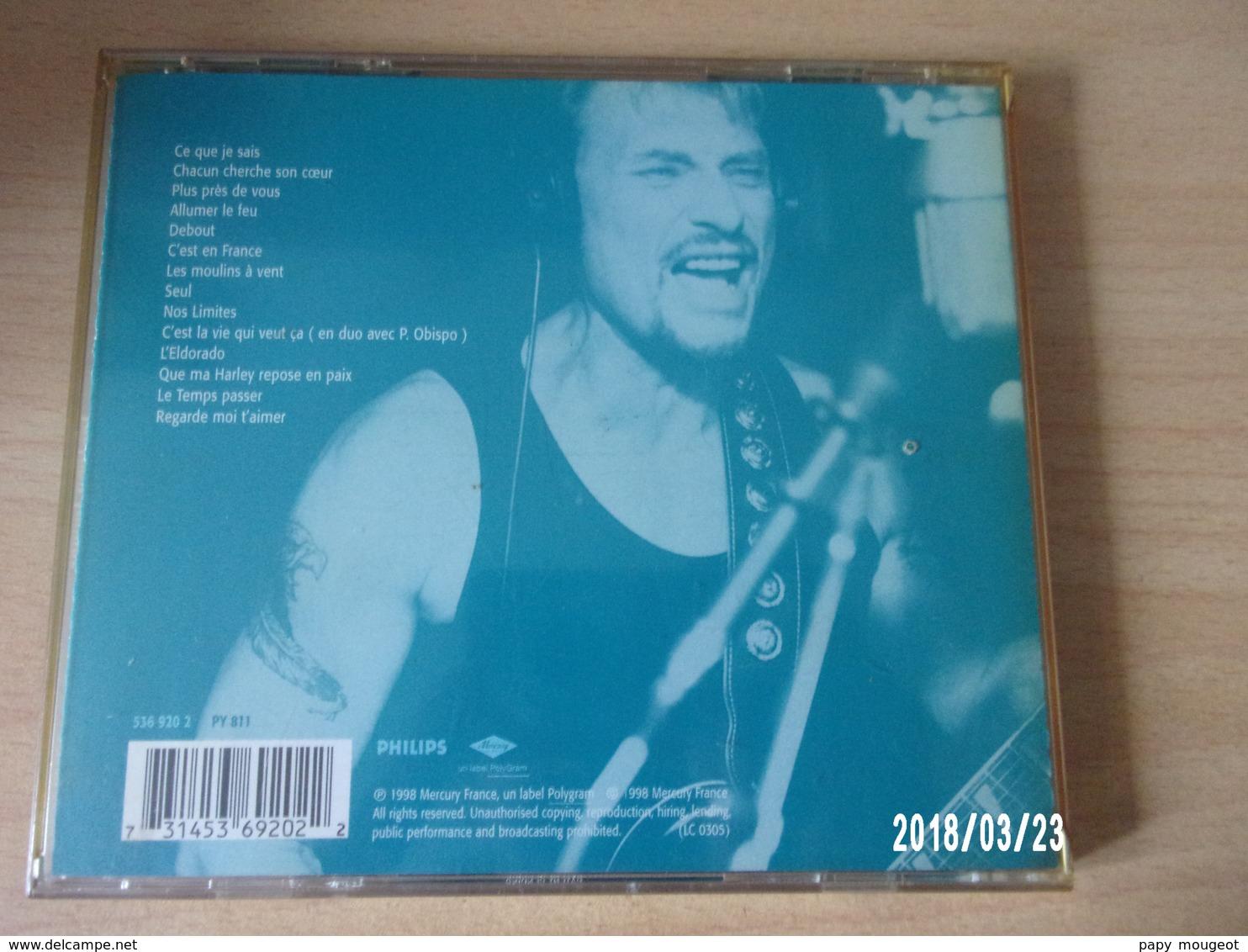 CD - Johnny Hallyday - Ce Que Je Sais - Rock