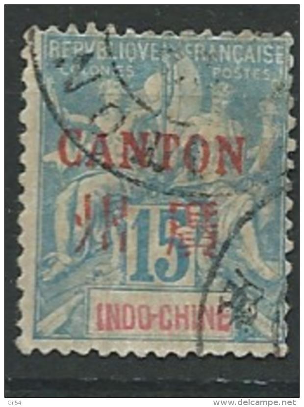 Canton -   Yvert N°  7 Oblitéré -  Pa10901 - Canton (1901-1922)