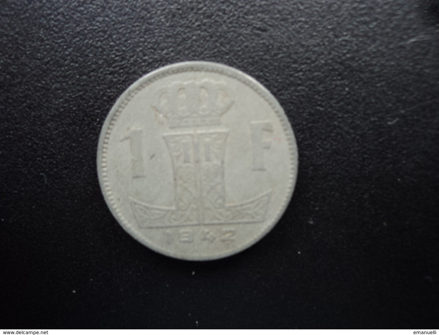BELGIQUE : 1 FRANK  1942   KM 128   TTB - 1934-1945: Leopold III
