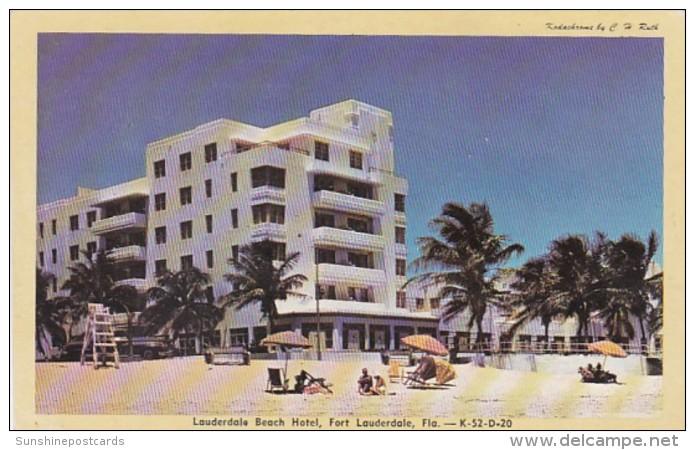 Florida Fort Lauderdale The Lauderdale Beach Hotel 1948 Dexter P