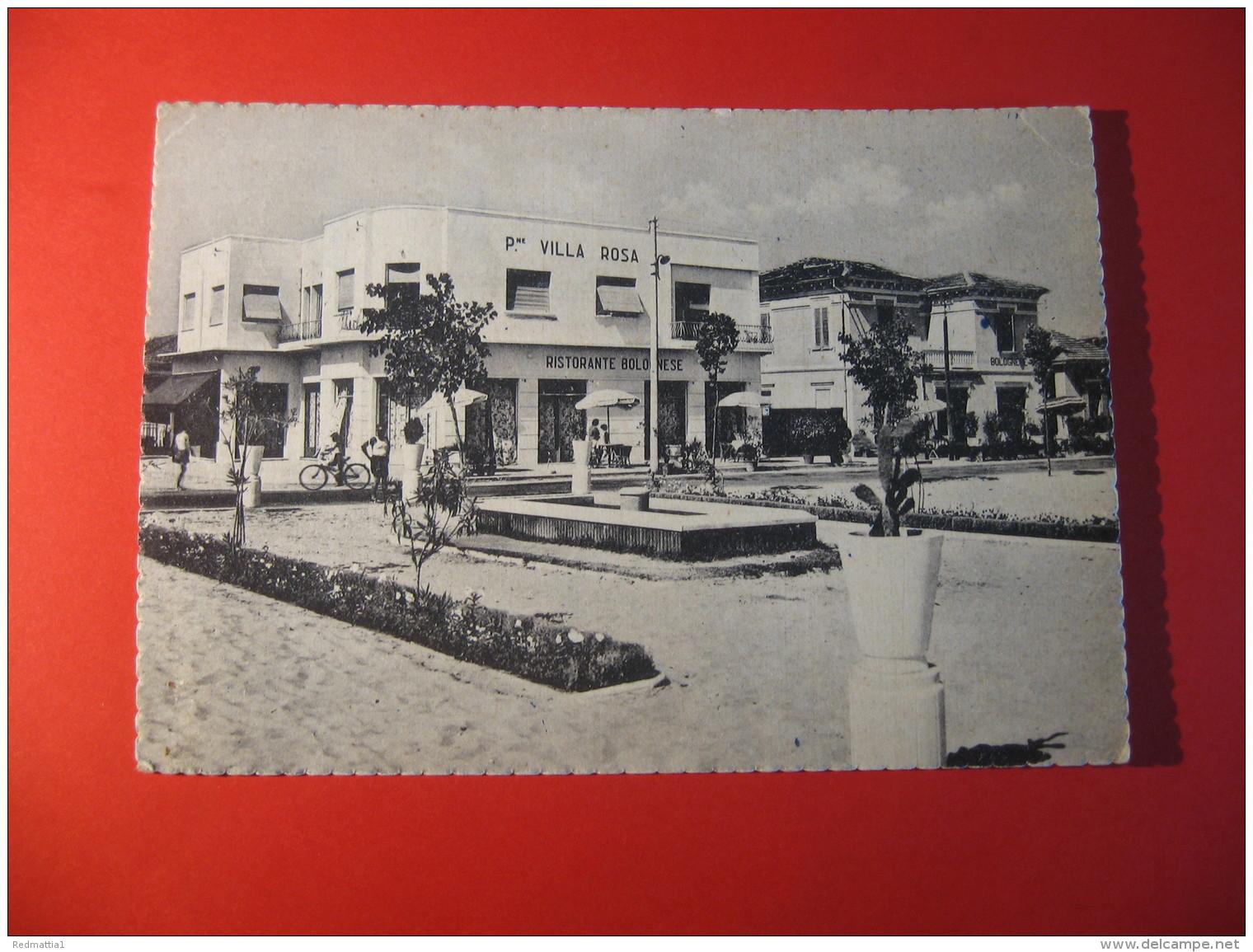 CARTOLINA  TORRE PEDRERA  PENSIONE VILLA ROSA   ANIMATA       D - 3856 - Rimini