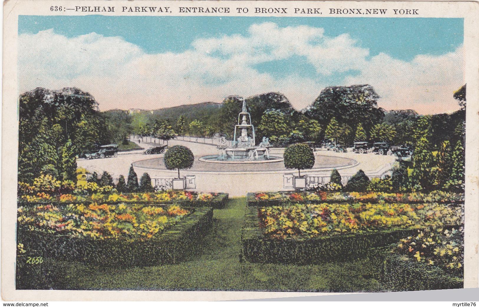 NEW YORK:PELHAM PARKWAY, Entrance To Bronx Park - Bronx