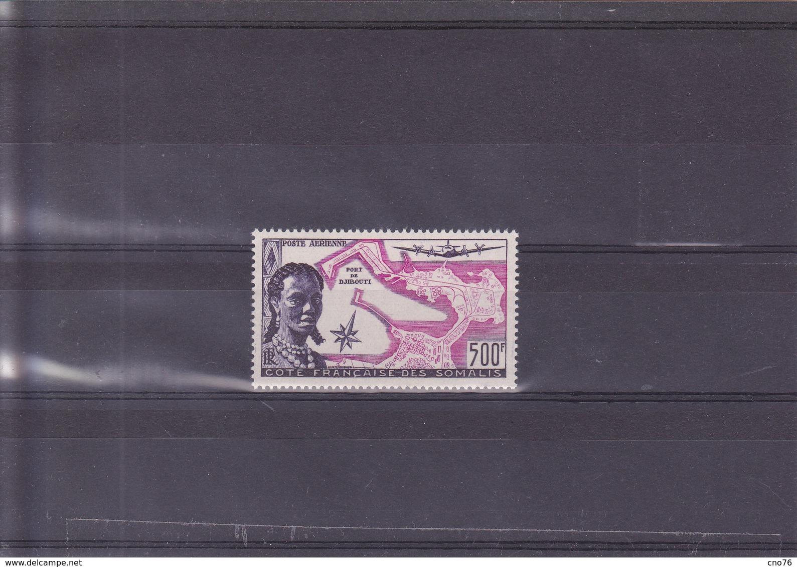 Côte Française Des Somalis PA N° 25** Timbre Neuf - Costa Francesa De Somalia (1894-1967)