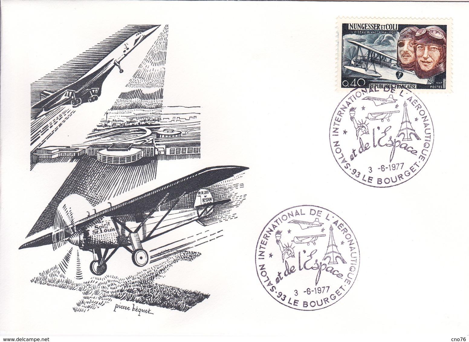 Kermesse Du Bol D'Air Oblitération Du 04/12/1976 - 1961-....