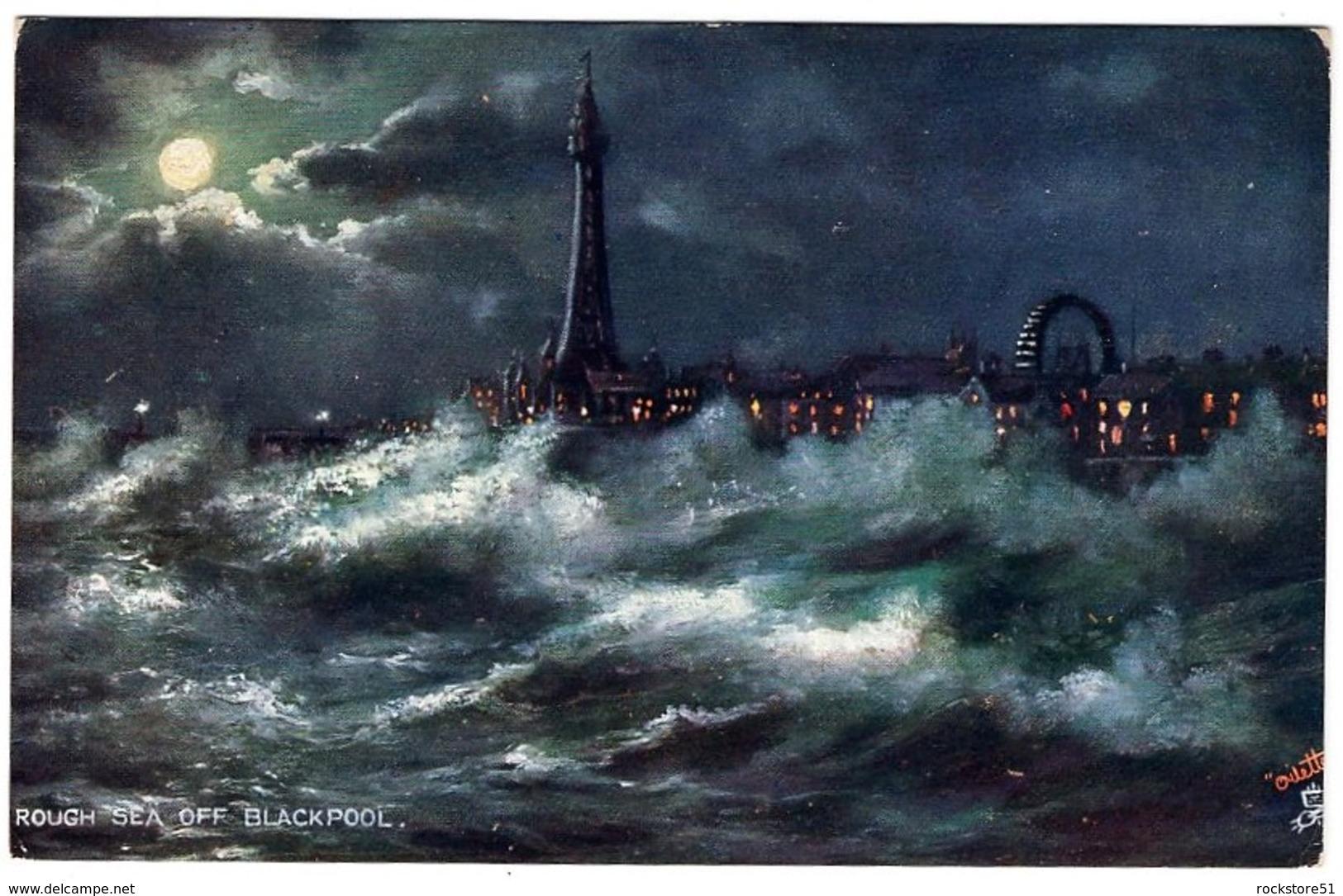 Raphael Tuck Rough See Att Blackpool - Tuck, Raphael
