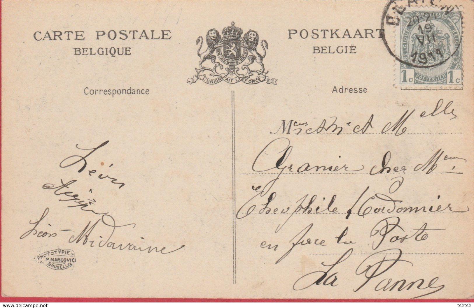 Blaton - Une Hirondelle ... Carte Mulivues - 1911 ( Voir Verso ) - Bernissart