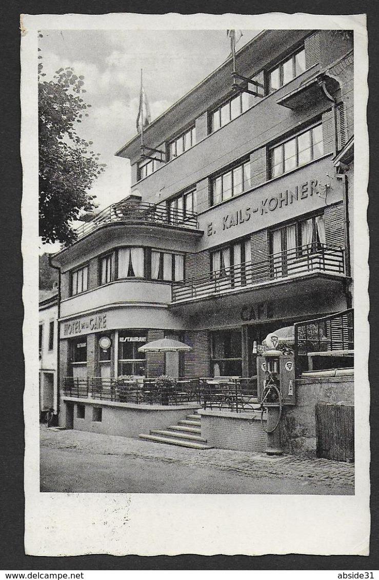 CLERVAUX - Hôtel De La Gare - E. Kails - Kohner - ( Pompe à Essence ) - Clervaux