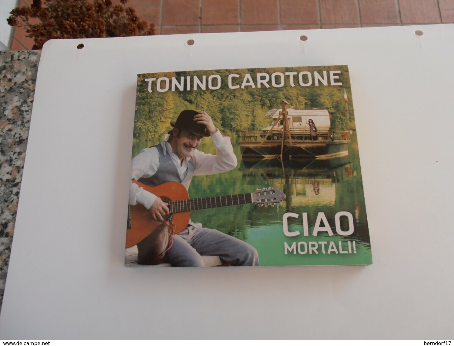 Tonino Carotone - Ciao Mortali - CD - Disco, Pop