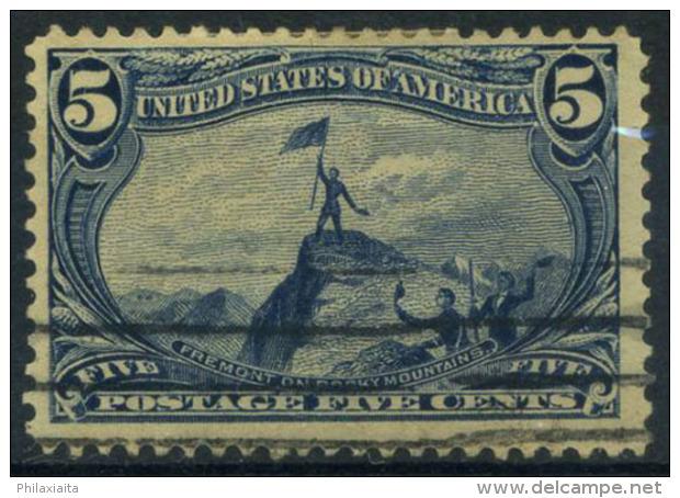 Stati Uniti 1898 Mi. 120 Usato 40% Mississippi, 5 C - 1847-99 General Issues