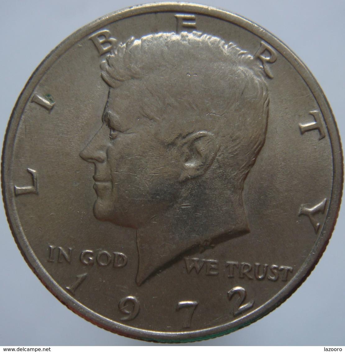 USA United States USA 1/2 Dollar 1972 VF/XF - Federal Issues