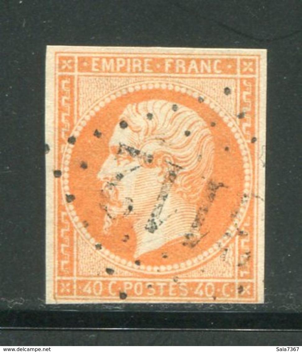Y&T N°16- Gros Chiffre 3112 - 1853-1860 Napoleone III