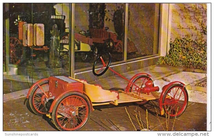 Vintage Auto 1922 Auto Red Bug Electric Buckboard
