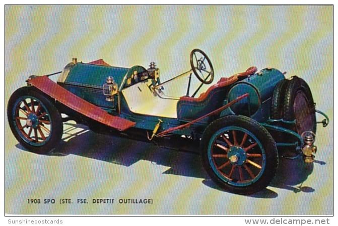 Vintage Auto 1908 SPO Ste Fse Depetit Outillage