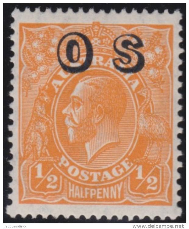 Australia   .    SG   .     O 128        .  Wmk  C Of A     .        **    .      MNH   .   /   .    Postfris - Dienstzegels