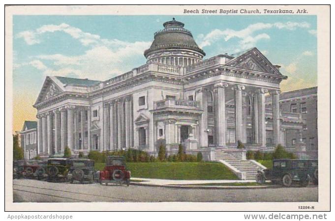 Arkansas Texarkana Beech Street Baptist Church Curteich