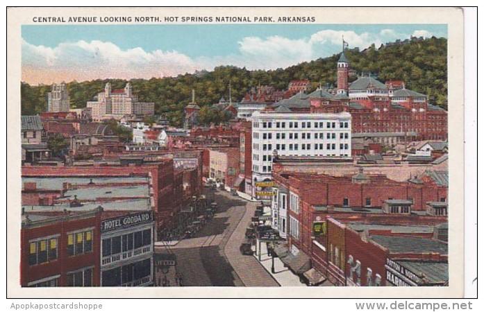 Arkansas Hot Springs Central Avenue Looking North