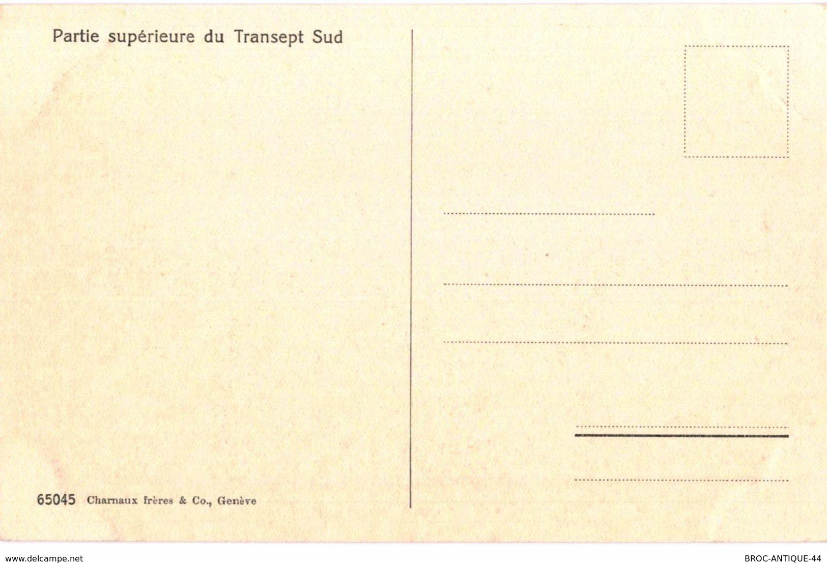 CPA N°20921 - LA CATHEDRALE DE LAUSANNE XIIIe SIECLE - PARTIE SUPERIEURE DU TRANSEPT SUD - VD Waadt