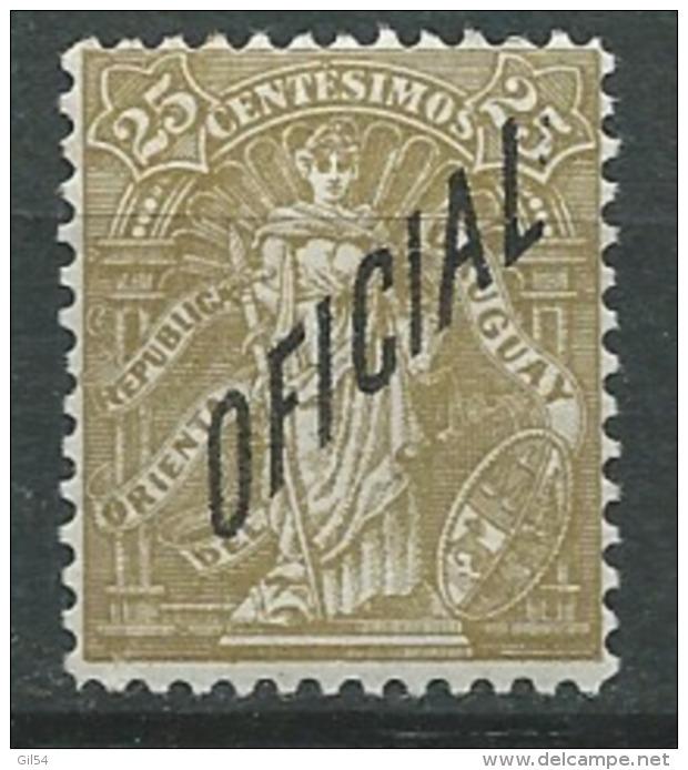 Uruguay  - Service   - Yvert N°  91 *   ( Trace De Plis Au Dos )  -   Pa 11120 - Uruguay