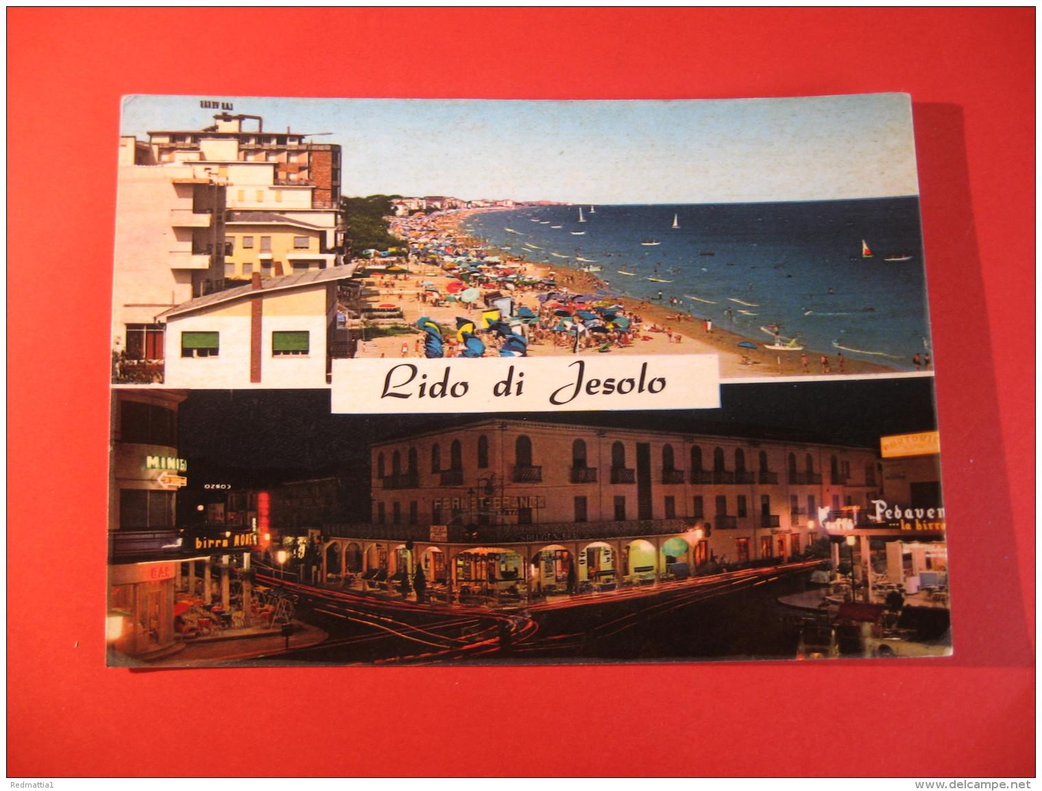 CARTOLINA  LIDO DI JESOLO VEDUTINE    D -  994 - Venezia