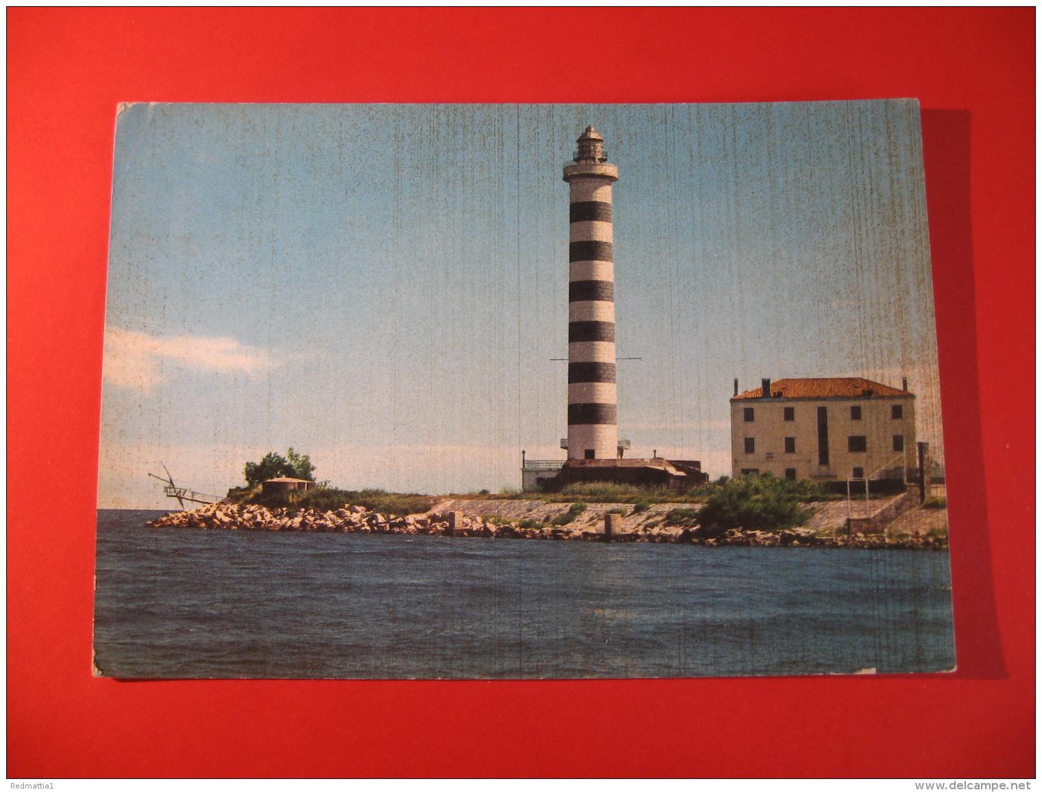 CARTOLINA  LIDO DI JESOLO IL FARO    D -  3 - Venezia
