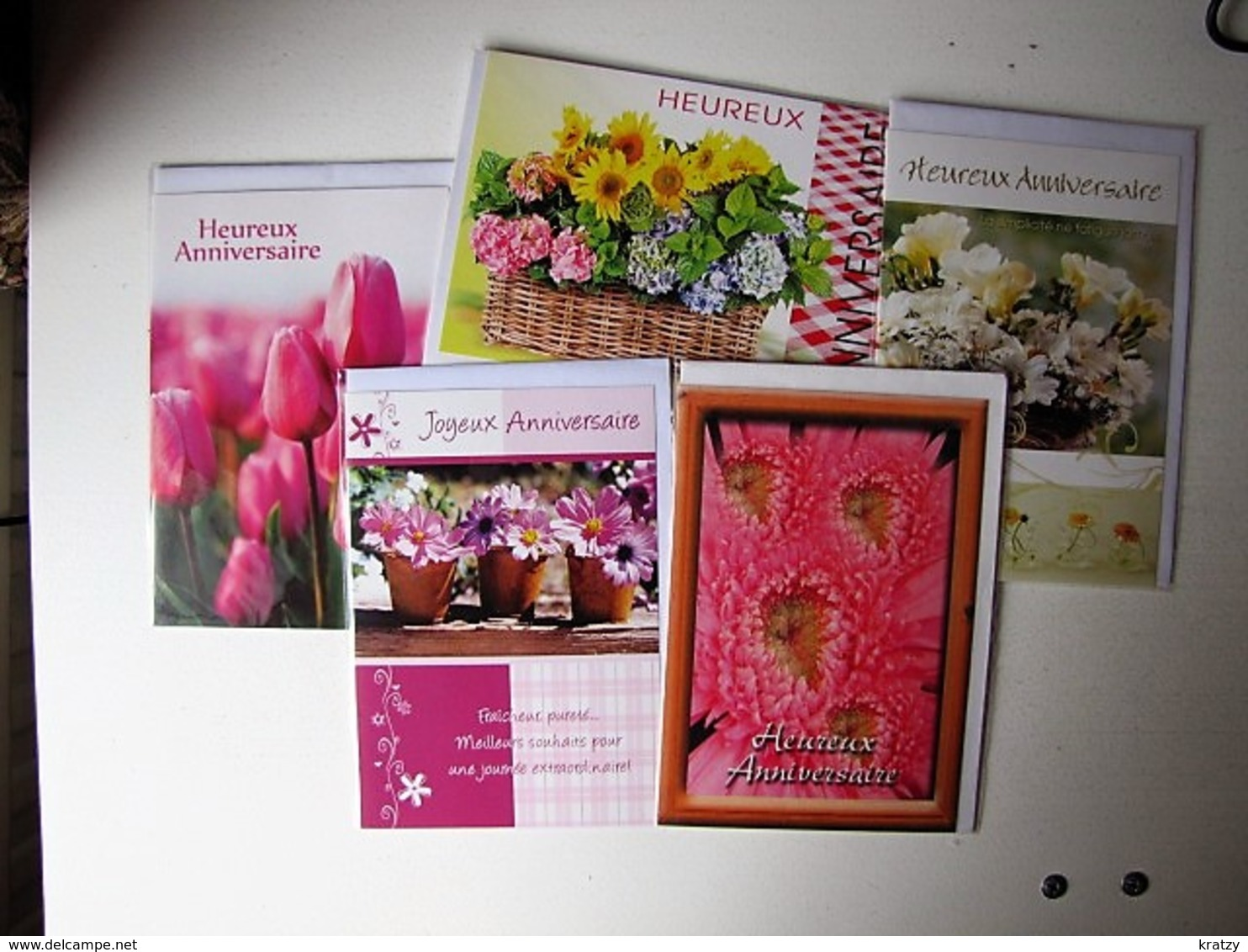 LOT DE 12 CARTES NEUVES EMBALLEES - Postcards