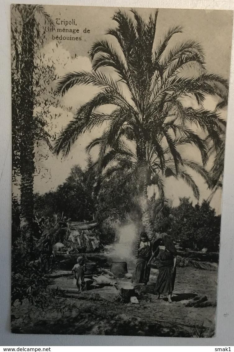 AK  LIBYA  TRIPOLI   BEDOUINES  1908. - Libyen