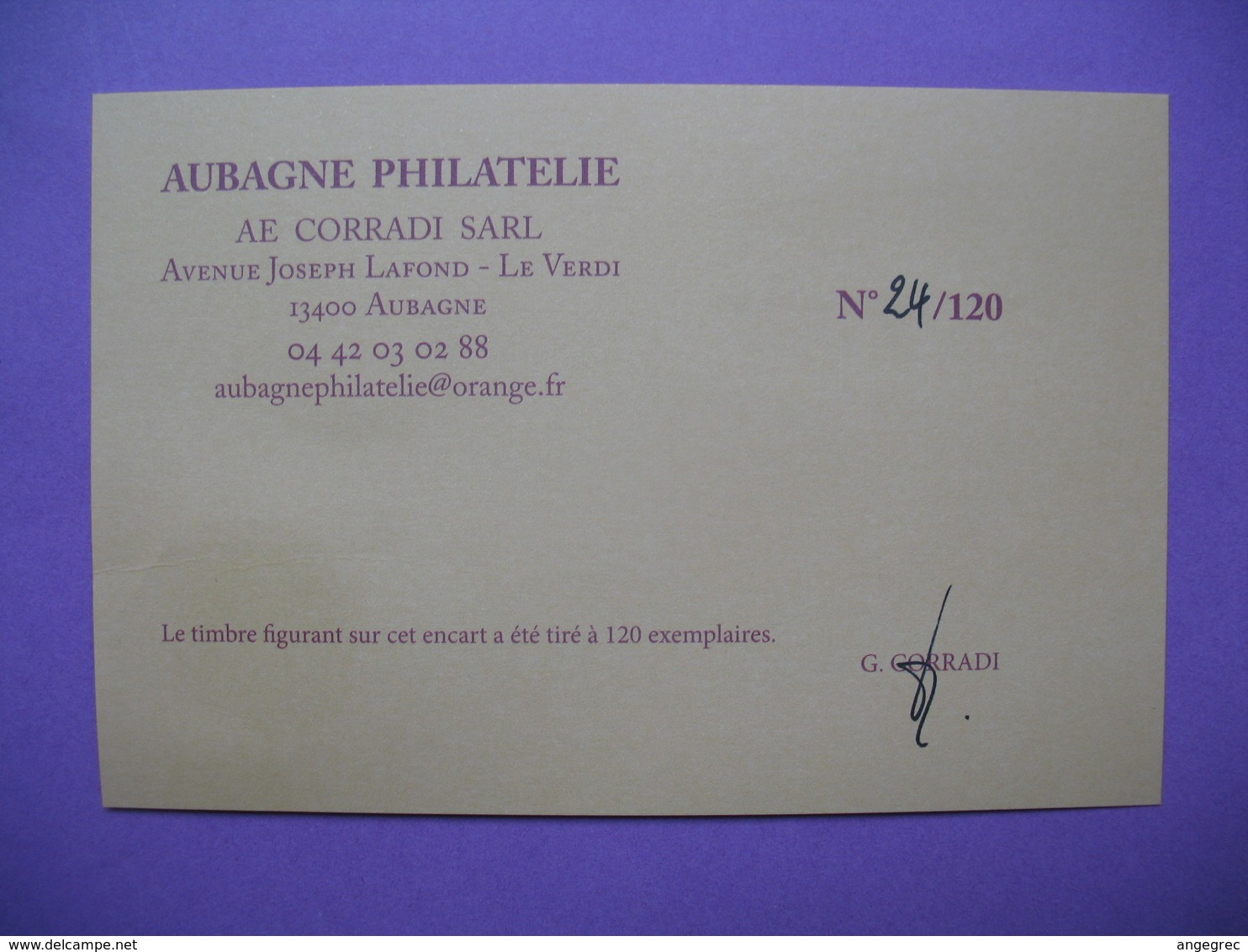 """Pièce De Collection Aubagne Philatélie   N° 24/120  Argilla 2013 """" Le Plus Grand Marché Potier De La Terre """" Avec Timbre - France"""
