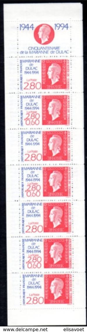France Frankrijk 1994 Yvertn° Carnet   BC2865  2865 *** MNH Cote 12 Euro - Carnets