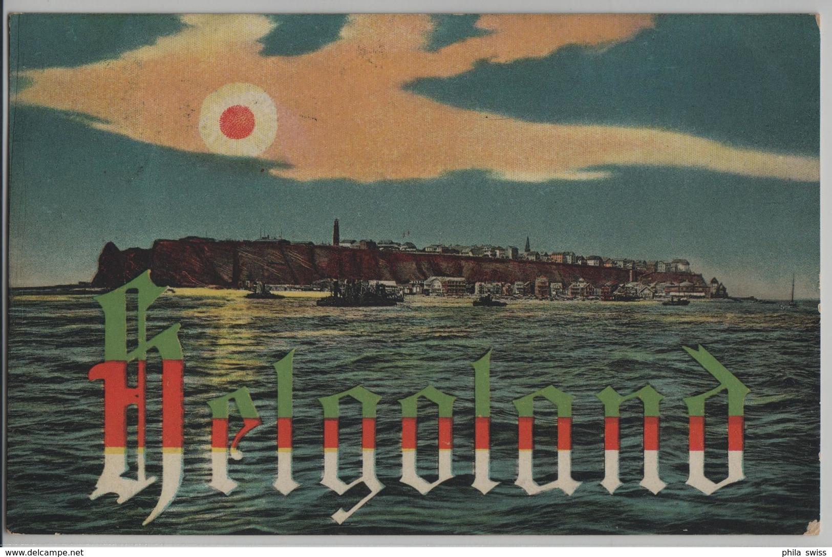 Helgoland - Sonnenuntergang, Abendstimmung - Helgoland