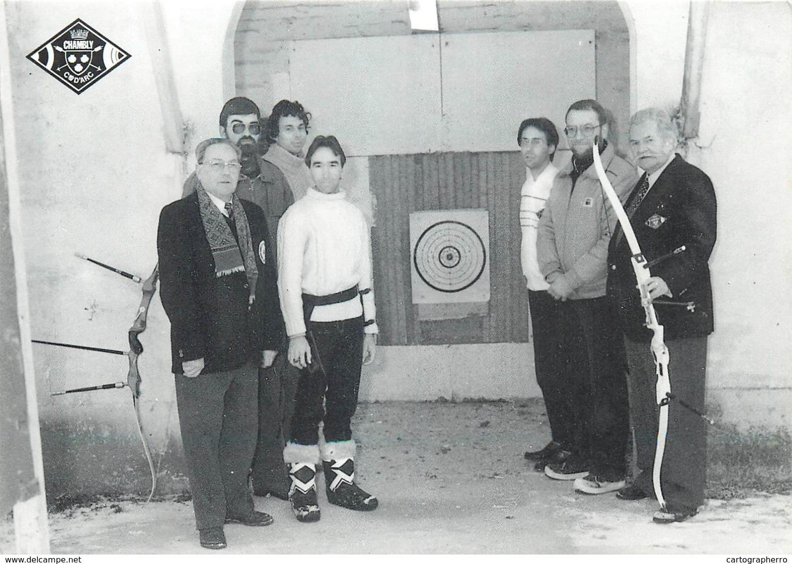 D1192 Societe Des Archers , Chambly - Tir à L'Arc