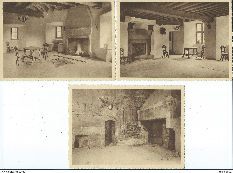 Clervaux Chateau Feodal ( Lot De 6 Vues ) - Clervaux