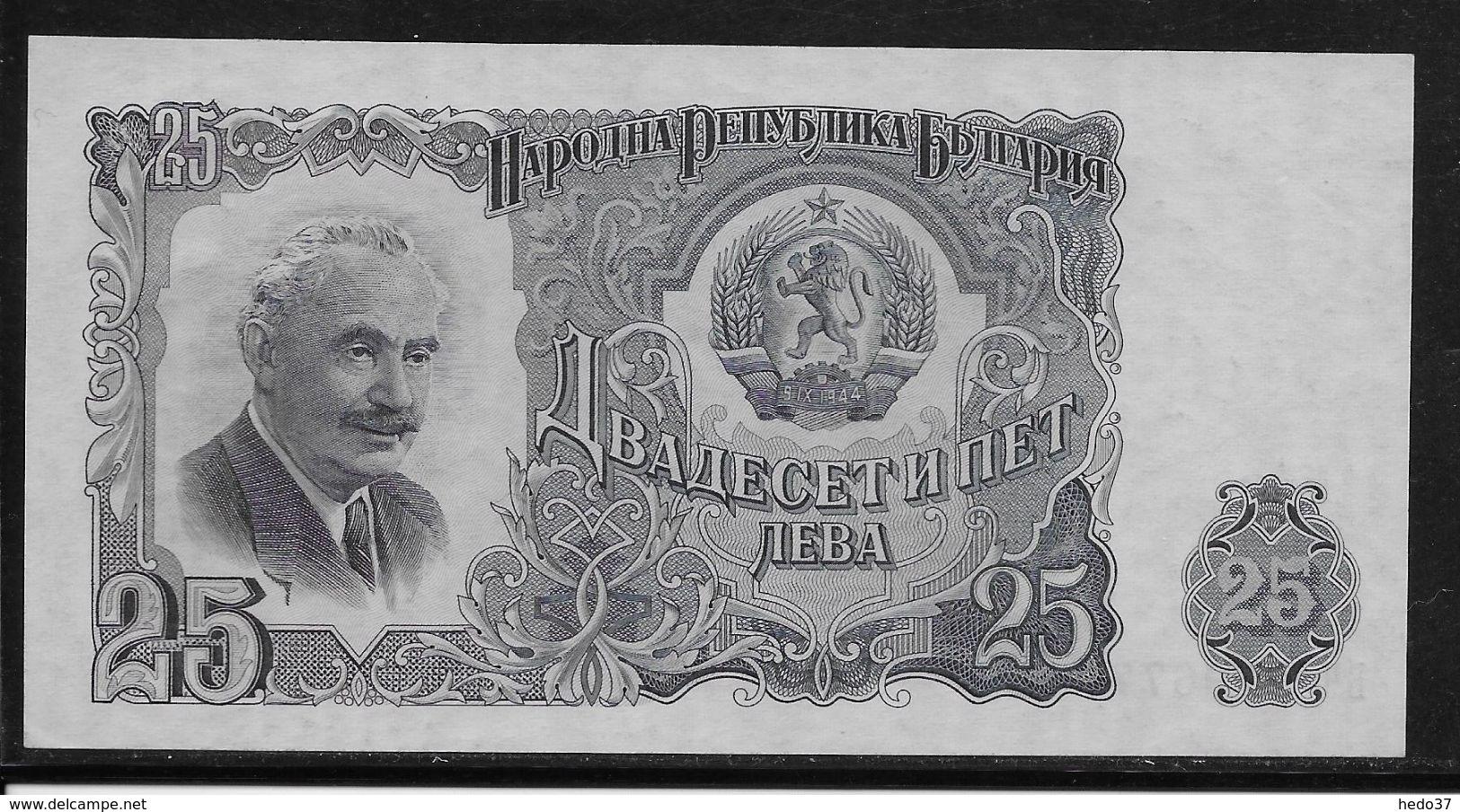 Bulgarie - 25 Leva  - Pick N°84 - Neuf - Bulgarie
