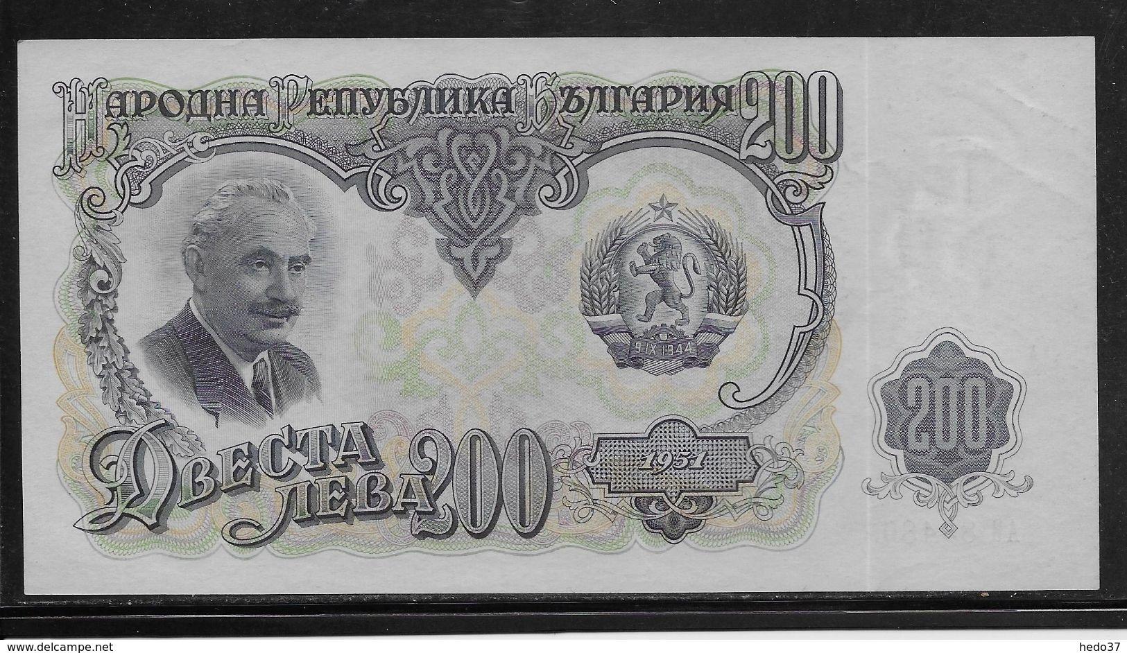 Bulgarie - 200 Leva  - Pick N°87 - SPL - Bulgarie