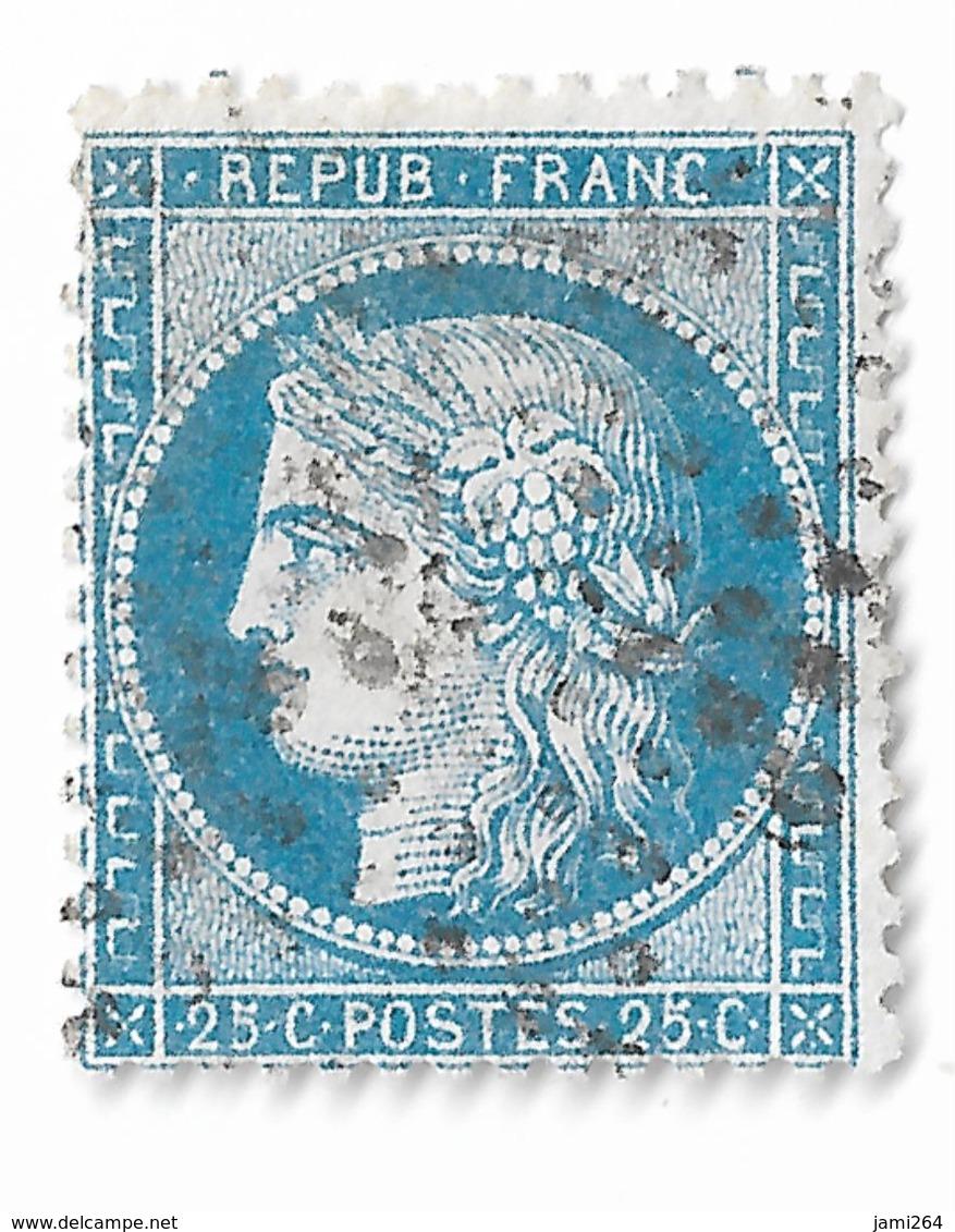 LETTRE Avec N° 60/1  72 A2 ,2ème état, Voir Mêche De Cheveux En Bas à Droite + TIMBRE 1er état  TTB - 1871-1875 Cérès