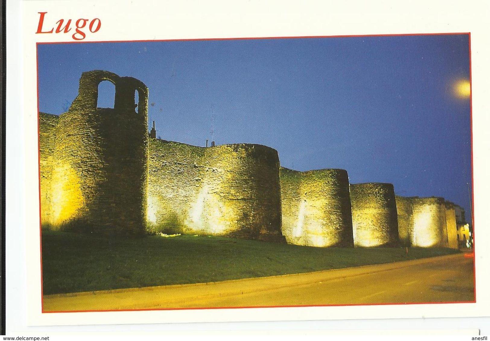 Lugo. Murallas. - Castillos