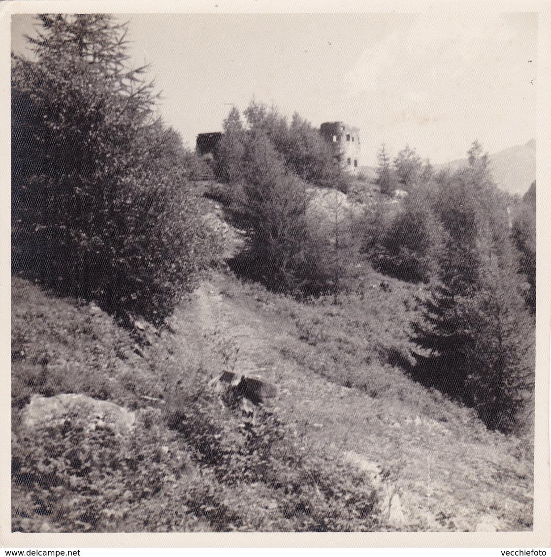 PRIMA GUERRA MONDIALE - TRENTINO FORTE CHERLE - FOLGARIA - LOTTO DI DUE FOTOGRAFIE - ANNI 30 - Luoghi