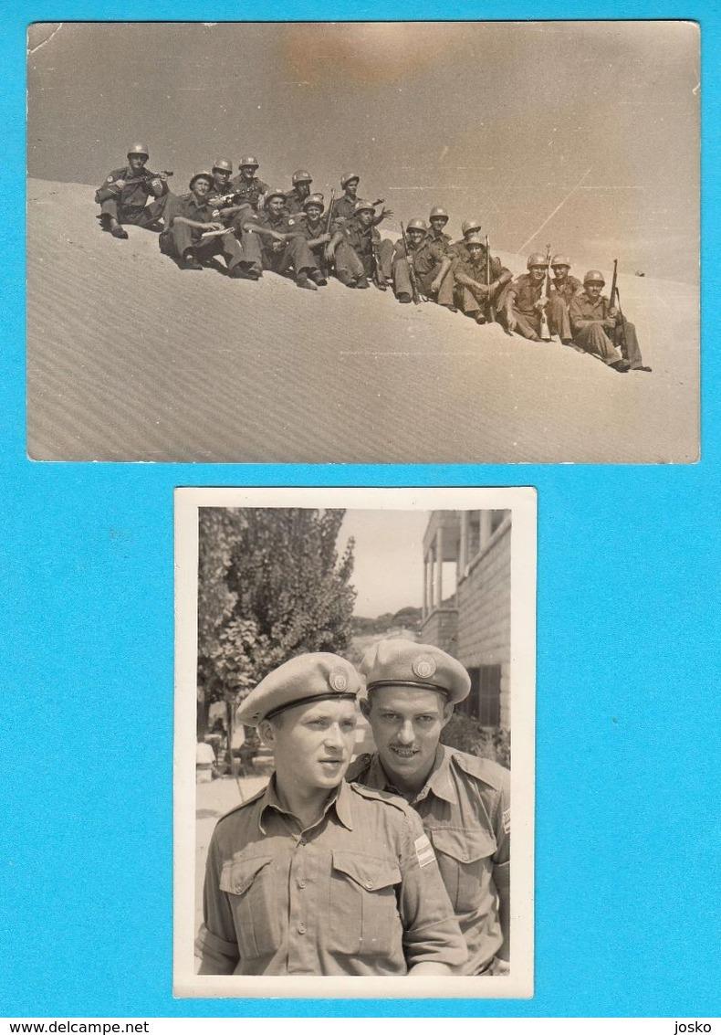 UNEF 1956-61 In EGYPT - SLOVENIA SOLDIER (KOCEVJE) MEMBER OF PEACEKEEPING MISSION ON SINAI * JNA ARMY YUGOSLAVIA ISRAEL - Documents