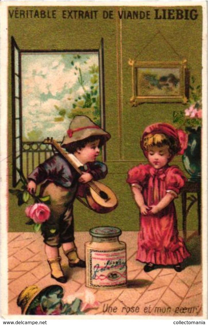 0105 Histoire Amoureuse - Liebig Set S 105 Complete - Litho Superbe Iprimerie Testu Et MAssin - Liebig