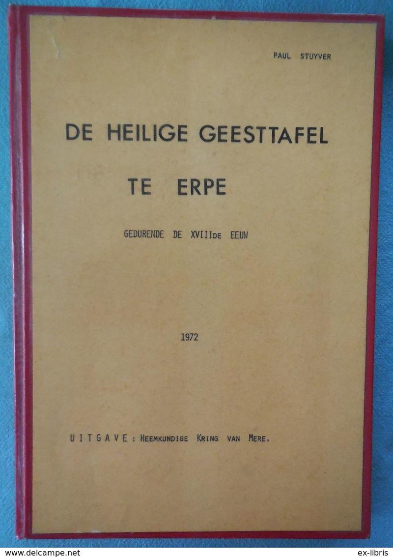 02 - De Heilige Geesttafel Te Erpe - Paul Stuyver - 1972 - Histoire