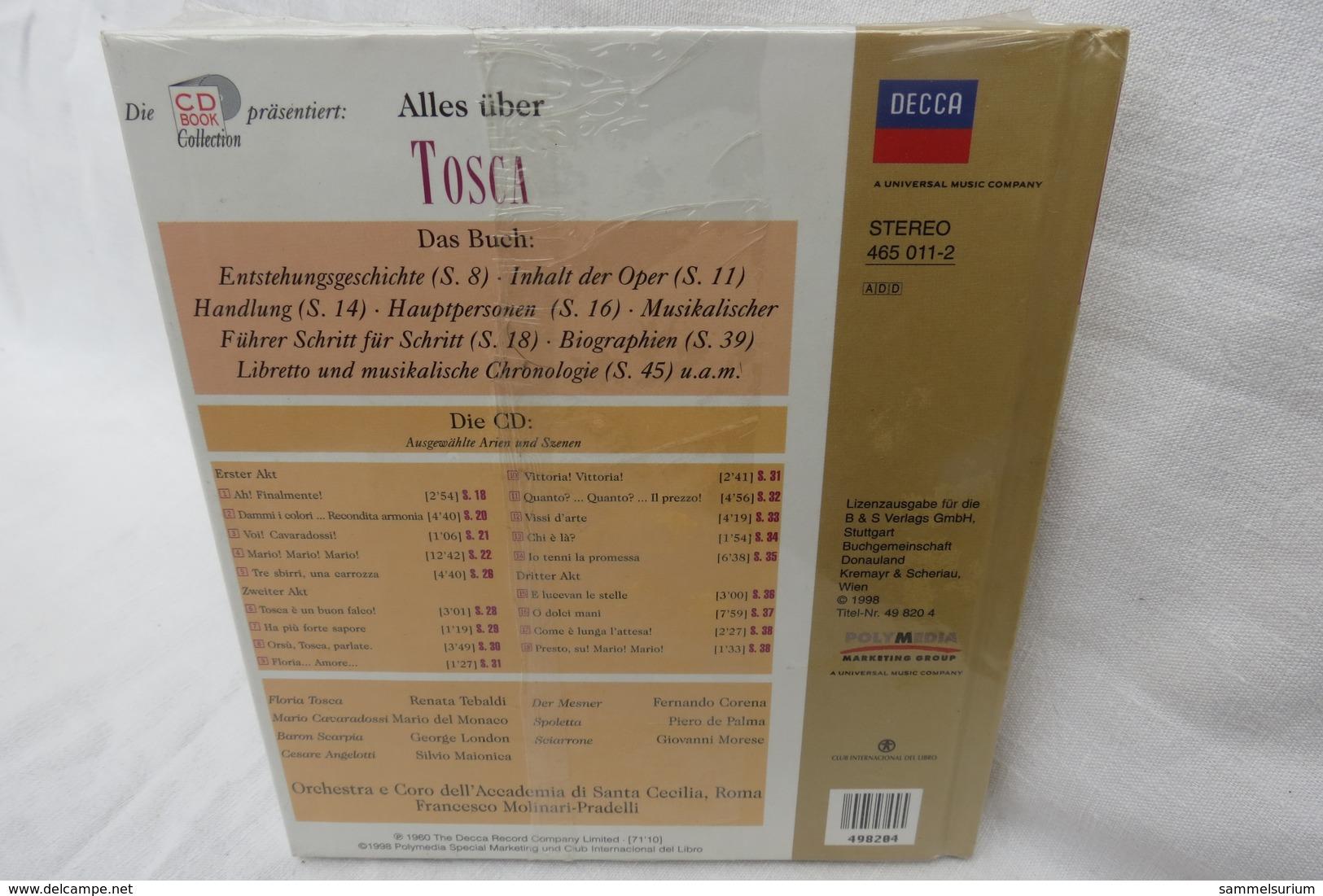 """CD """"TOSCA Von Giacomo Puccini"""" Mit Buch Aus Der CD Book Collection (ungeöffnet, Original Eingeschweißt) - Oper & Operette"""