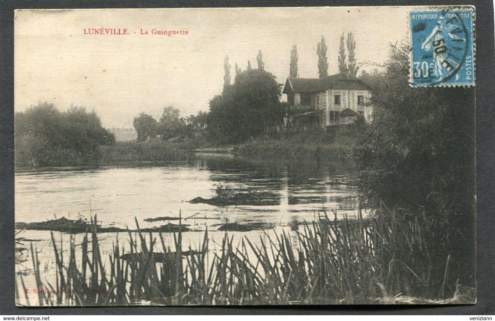 CPA - LUNEVILLE - La Guinguette - Luneville