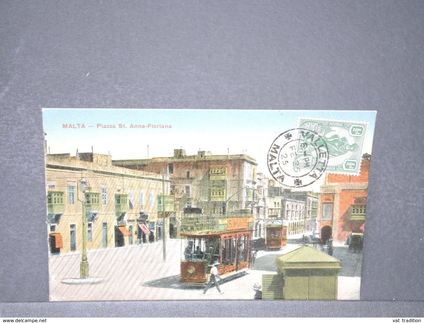 MALTE - Carte Postale - Piazza St Anna Floriana - L 15794 - Malte