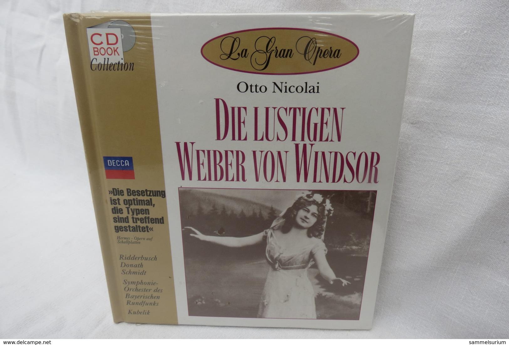 """CD """"Die Lustigen Weiber V.Windsor/Otto Nicolai"""" Mit Buch Aus Der CD Book Collection (ungeöffnet, Original Eingeschweißt) - Oper & Operette"""