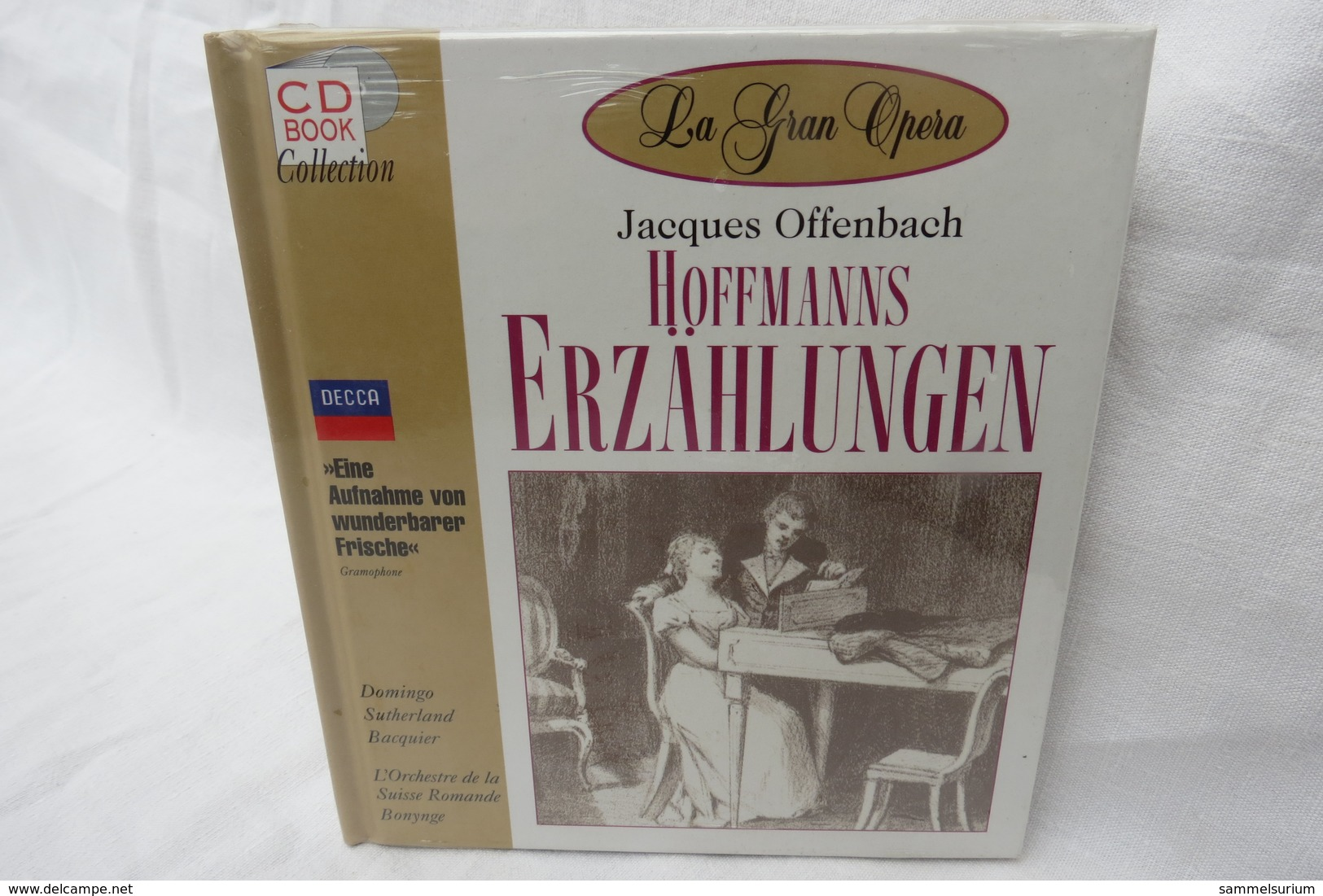 """CD """"Hoffmanns Erzählungen / Jacques Offenbach"""" Mit Buch Aus Der CD Book Collection (ungeöffnet, Original Eingeschweißt) - Opera"""